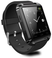 Aomax Bluetooth Smart Watch Smartwatch(Black Strap Regular)