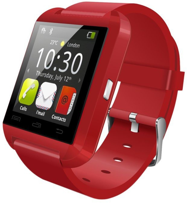 Celestech NS02 with Bluetooth, Fitness Tracker Brilliant Red Smartwatch(Red Strap Regular)