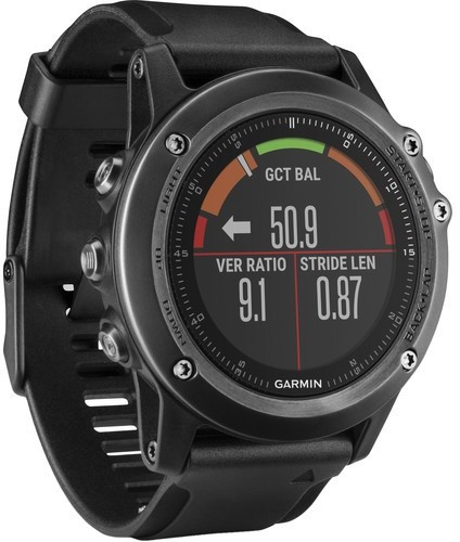 Garmin FENIX 3 HR Smartwatch(Black Strap Regular)