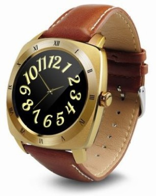 Wayona Bluetooth Smart Watch Heart Rate monitor Round Dial Wristwatch For Android and IOS Smart Wearable Luxury Gold Smartwatch