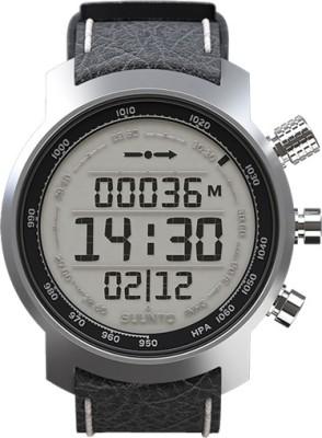 Suunto SS014523000 Elementum Terra Digital black Smartwatch(Black, White Strap)
