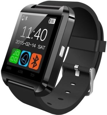 Bingo U8 Smartwatch(Black Strap)
