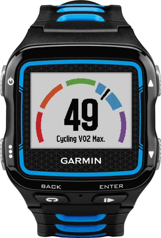 Garmin Forerunner 920XT GPS with HRM Smartwatch(Blue, Black Strap)