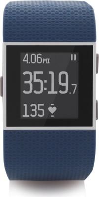 Fitbit Surge Large Blue Smartwatch(Blue Strap Large)