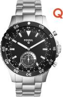Fossil Q Crewmaster Hybrid (For Men) Smartwatch(Silver Strap Regular)
