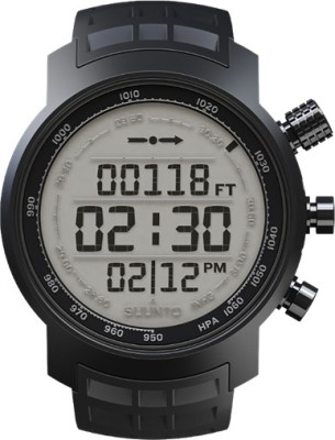 Suunto SS018732000 Elementum Terra Digital Black Rubber Smartwatch