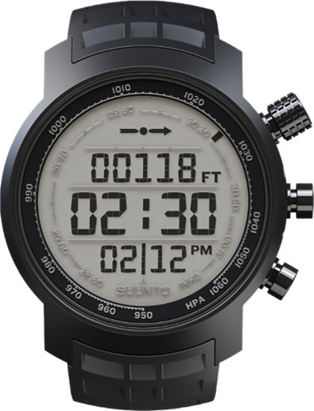 Suunto SS018732000 Elementum Terra Digital Black Rubber Smartwatch(Black Strap)