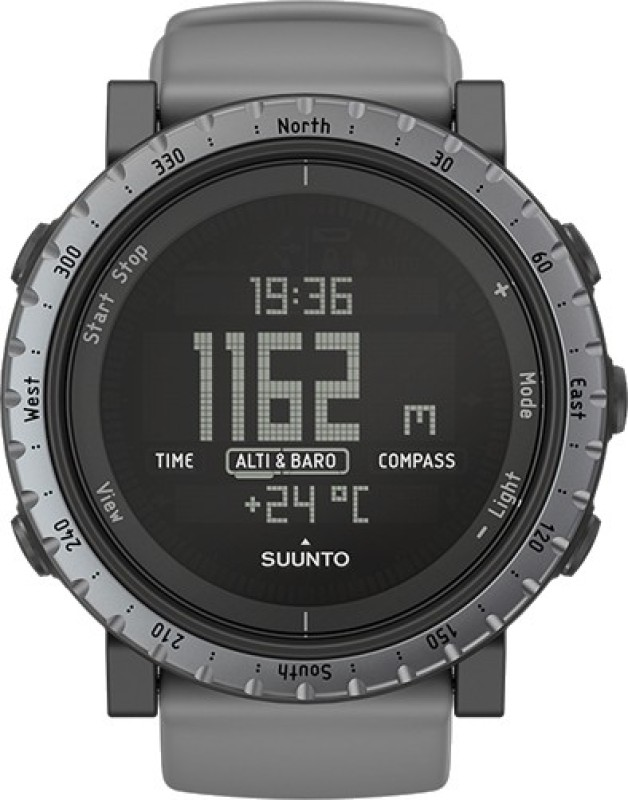 Suunto SS020344000 Core Digital Dusk Grey Smartwatch(Grey Strap)