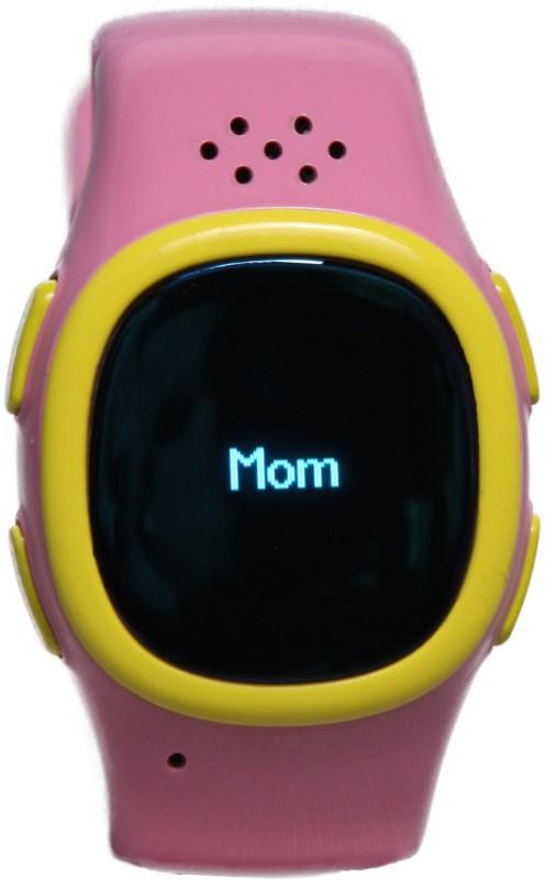 Traikoo Spatch Smartwatch(Pink Strap)