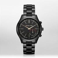Michael Kors Access Slim Runway Hybrid (For Women) Smartwatch(Black Strap Regular)