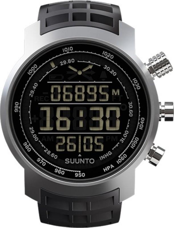 Suunto SS014522000 Elementum Terra Black Rubber Smartwatch(Black Strap)