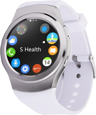 Bingo C4 White With Sim Support Full Screen Touch -Android & IOS Support Smartwatch