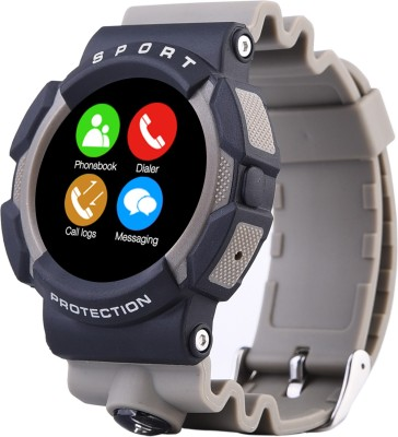 Bingo C3 GREY Waterproof Compatible with Android and IOS System Smartwatch