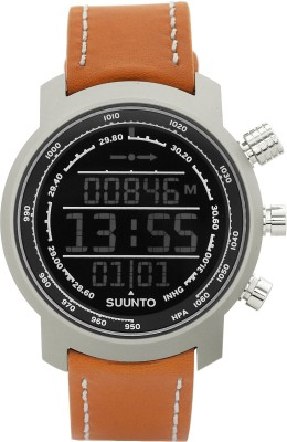 Suunto SS018733000 Elementum Terra Digital Brown Leather Smartwatch