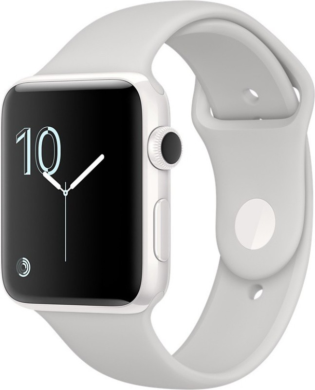Apple Watch Edition 42mm White Ceramic Case with Cloud Sport Band(White Strap)