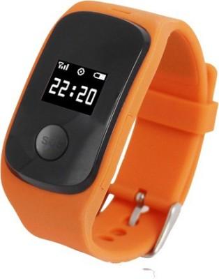 FindU FK02S Orange Smartwatch(Orange Strap)