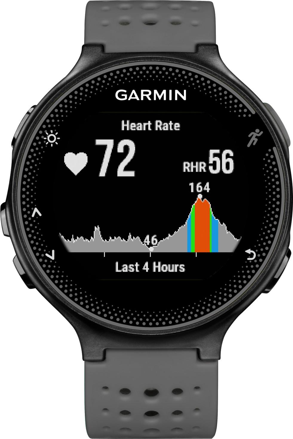 Garmin Forerunner 235 Grey Smartwatch(Grey Strap Regular)