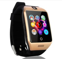 CELESTECH ARPQ18 with Curved Screen, SIM Card, Fitness Tracker and Bluetooth Smartwatch(Brown Strap Regular)