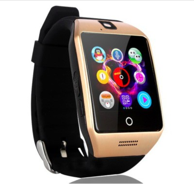 OUTSMART ARPQ18 with Heart Rate Sensor, SIM Card, Fitness Tracker and Bluetooth Smartwatch(Brown Strap)