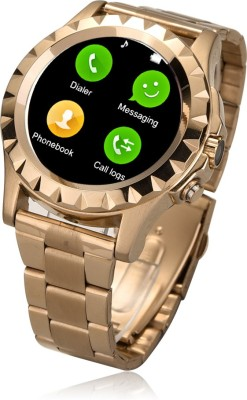 Bingo C1 Gold With Removable Strap Supports Bluetooth, Android & IOS System Smartwatch