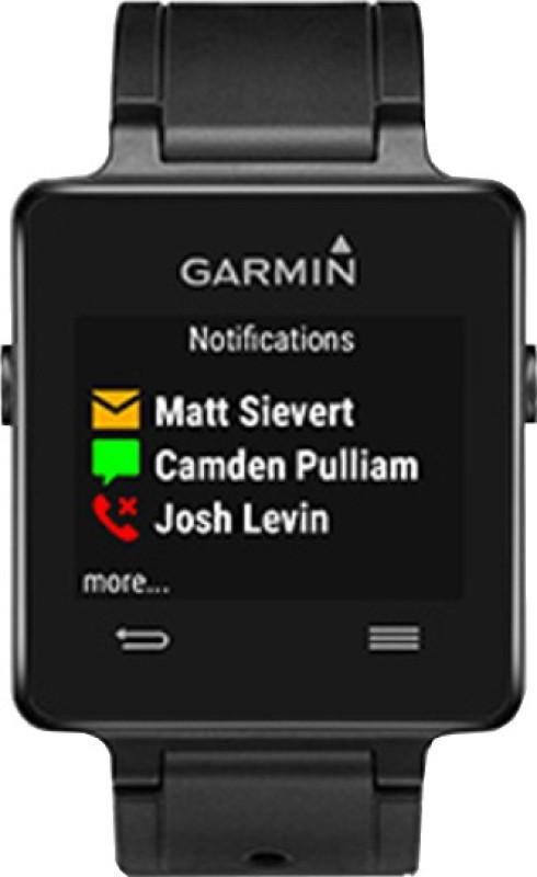 Garmin Vivoactive Smartwatch(Black Strap)