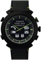 COGITO Classic Leather Band Black Smartwatch(Black Strap Regular)