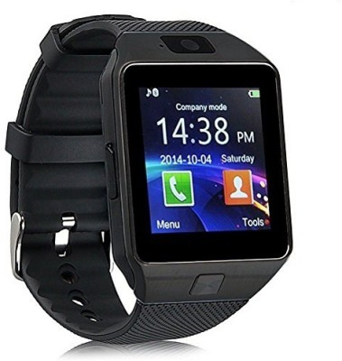 98Gadgets DZ09 Smartwatch(Black Strap)