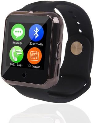 Maya Heart Rate Monitor Black Smartwatch