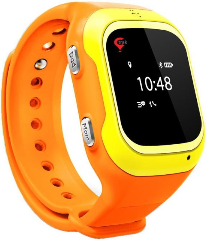 TRAK Trak Gps Watch Orange Smartwatch(Orange Strap M)