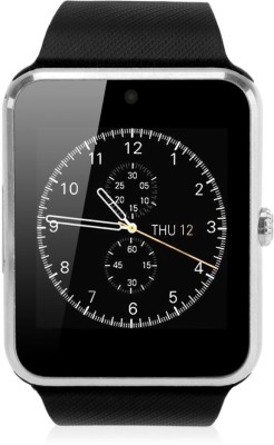Influx ® Intelligent Bluetooth GSM Sim Card Mobile Phone GT08 Silver Smartwatch