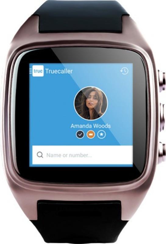 Auxus Rist Smartwatch(Black Strap)
