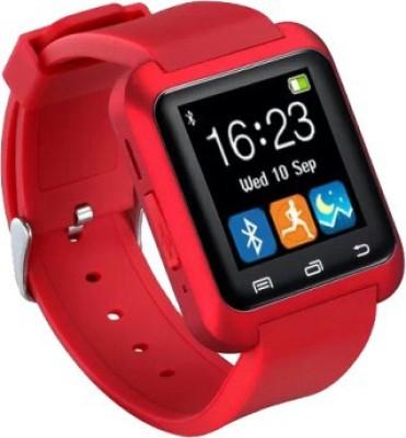 Phono Holic U8 Smartwatch(Red Strap)