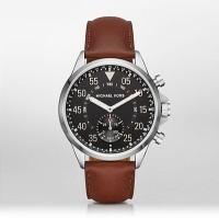 Michael Kors Gage Hybrid (For Men) Smartwatch(Brown Strap Regular)