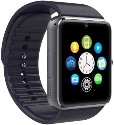 Noise GT 08 Black Smartwatch(Black Strap Regular) at flipkart