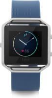 Fitbit Blaze Blue & Silver Smartwatch(Blue Strap Large)