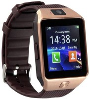 Benison India ™ DZ09 with Smart Mobile Watch with sim, Bluetooth, Fitness Tracker,32GB memory card slot compatible with all Android Phones Brown Smartwatch(Brown Strap Regular)