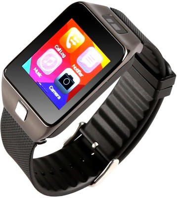 Attire Heart Rate Smartwatch(Black Strap Large) at flipkart