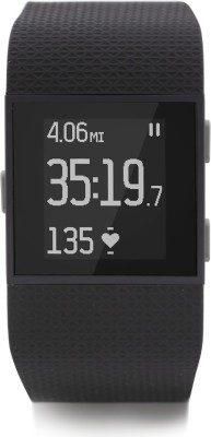 Fitbit Surge Fitness Superwatch Black Smartwatch(Black Strap Small)