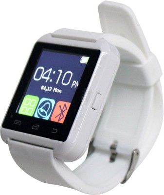 A Connect Z Android Phone Bluetooth U8 Watch Smartwatch(White Strap Regular) at flipkart