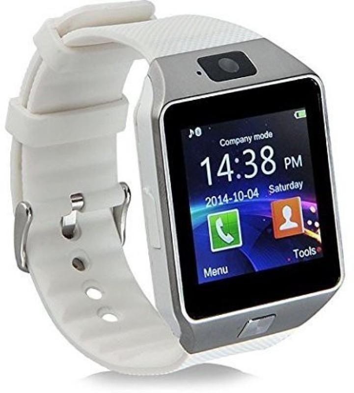 PERSONA u8 white Bluetooth Notification Smartwatch(White Strap)