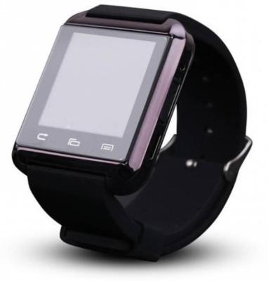 A Connect Z U8 Phone Watch Smartwatch(Black Strap)