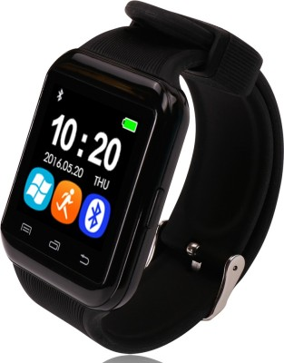Bingo U8S Black Smart Bluetooth Notification Watch With HD Sound Smartwatch