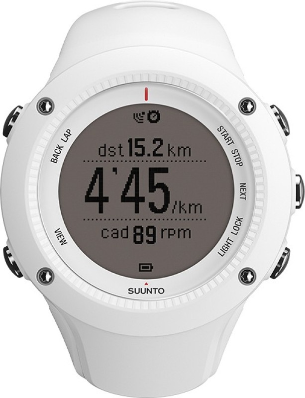 Suunto SS020657000 Ambit2 Digital Smartwatch(Black Strap)