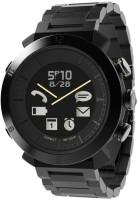 COGITO Classic Black Metal Smartwatch(Black Strap Regular)