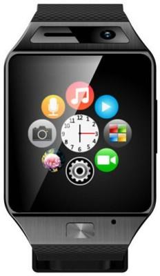 Qtec SW Smartwatch(Black Strap Regular) at flipkart