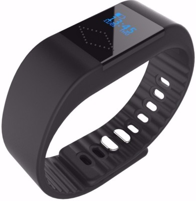 Maya M1 Call Reminder Passometer Black Smartwatch