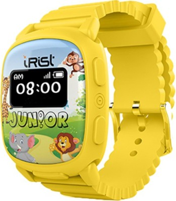 Intex iRist JUNIOR Yellow Smartwatch(Yellow Strap Regular) at flipkart