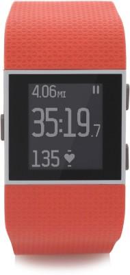 Fitbit Surge Tangerine Large Tangerine Smartwatch(Orange Strap Large)