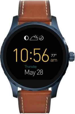 Fossil Marshall For Men Dark Brown Smartwatch(Brown Strap)