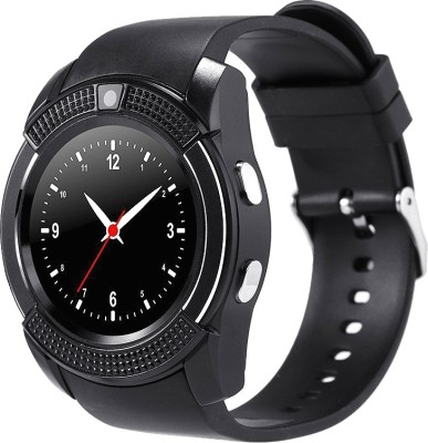 Bingo C6 Black Bluetooth Smart Watch for Android And IOS Smartwatch(Black Strap Regular) at flipkart